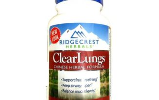 Save $5.00 off (1) Ridgecrest Herbals Clear Lungs Coupon