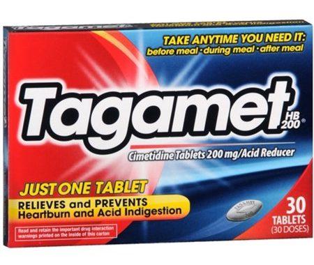 Save $1.00 off (1) Tagamet Acid Reducer Printable Coupon
