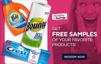 Get FREE Samples Of Your Favorite Products! (Special Offer)