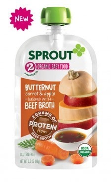 Sprout Organic Baby Food Pouches Only $0.79 At Kroger!