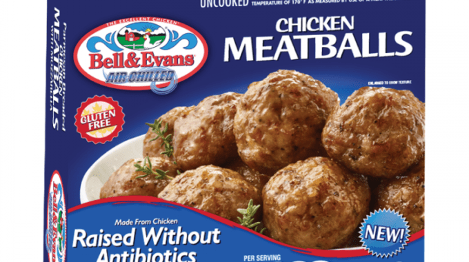 Save $5.00 off (1) Bell & Evans Chicken Meatballs Coupon