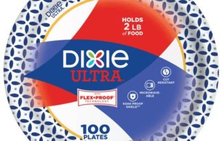 Save $0.50 off (1) Dixie Ultra Paper Plates Coupon