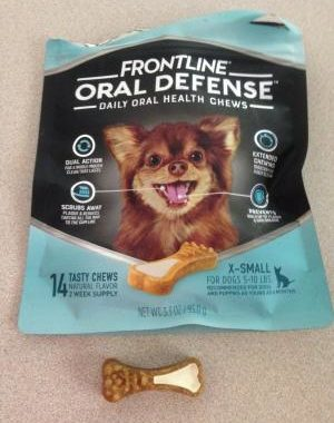 Save $2.50 off (1) Frontline Oral Defense for Extra Small Dogs Coupon