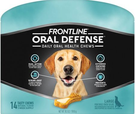 Save $3.25 off (1) Frontline Oral Defense for Large Dogs Coupon