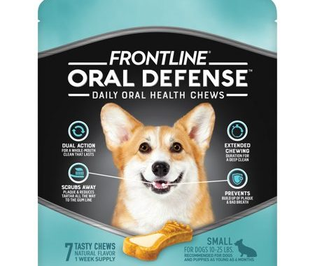 Save $2.75 off (1) Frontline Oral Defense for Small Dogs Coupon