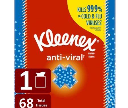 Save $3.00 off (1) Kleenex Anti-Viral Facial Tissue Coupon