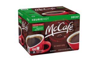 Save $6.00 off (1) McCafe Decaf Premium Roast Coffee Coupon