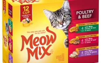 Save $1.00 off (1) Meow Mix Wet Cat Food Variety Pack Coupon