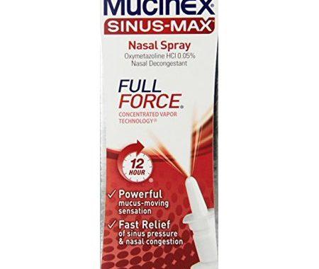Save $1.00 off (1) Mucinex Sinus-Max Nasal Spray Coupon