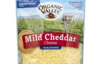 Save $2.00 off (1) Organic Valley Shredded Cheese Coupon