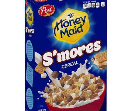Save $0.50 off (1) Post Honey Maid S'mores Cereal Coupon