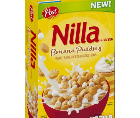 Save $0.50 off (1) Post Nilla Banana Pudding Cereal Coupon