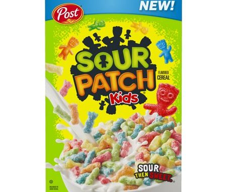 Save $0.50 off (1) Post Sour Patch Kids Cereal Printable Coupon