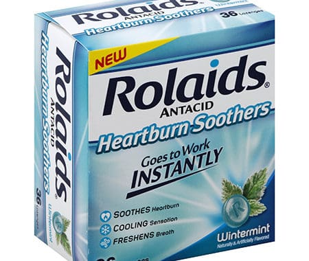 Save $3.00 off (1) Rolaids Heartburn Soothers Coupon